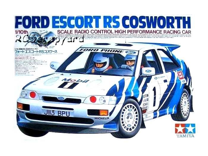 58112 Tamiya Ford Escort Rs Cosworth Ta 01 Radio Controlled Model Archive Rcscrapyard