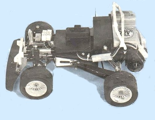 Tamiya Willy's Wheeler #58039 Chassis