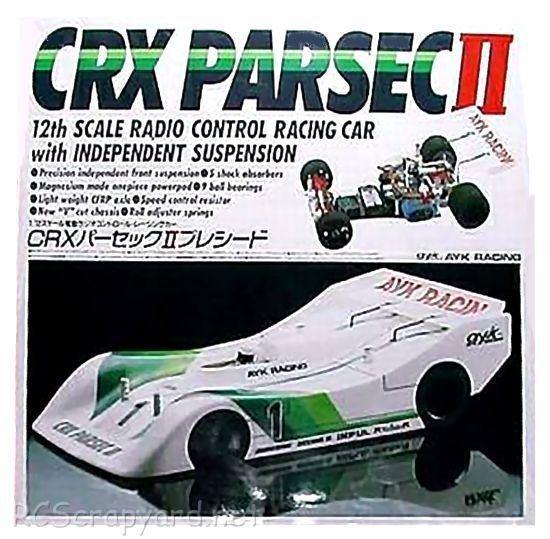 AYK CRX Parsec II • (Radio Controlled Model Archive