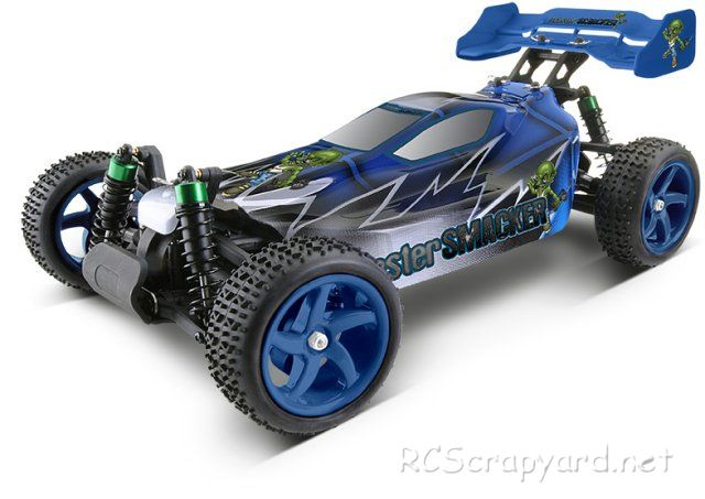 Ansmann Master-Smacker - 1:10 Electric RC Buggy