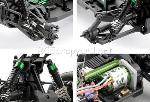 Ansmann Royal Flash Brushless Chassis
