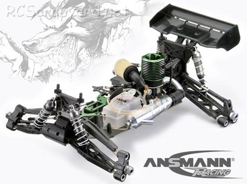Ansmann Terrier 2.0 Chassis