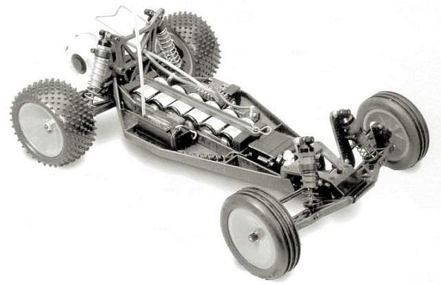 Team Associated RC10 B2 Chassis