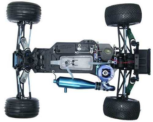 Team Associated GT2 FT Chassis