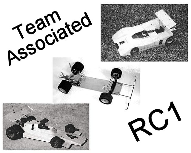 Associated RC1 - 1:8 Nitro RC Pan Racing Car