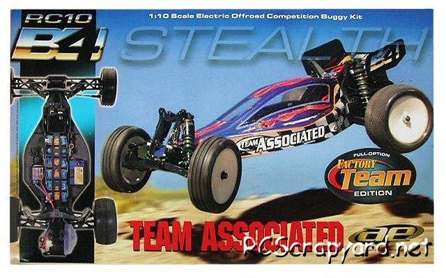Team Associated RC10 B4 Factory Team - 1:10 Electric RC Buggy