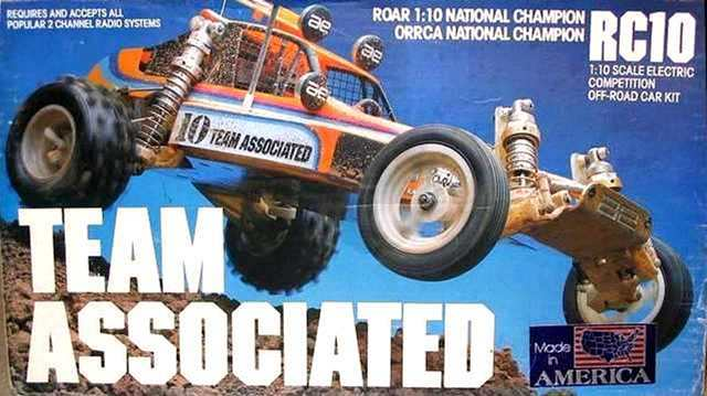 Team Associated Iconic Vintage RC10