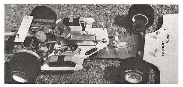 Associated RC100 - 1:8 Nitro RC Pan Racing Car