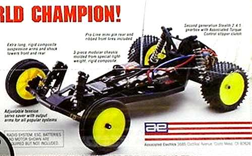 Team Associated B2 Chassis