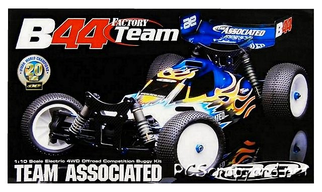 Team Associated B44 Factory Team - 1:10 Electric RC Buggy