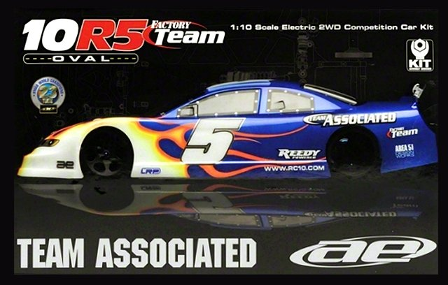 Team Associated RC10R5 Oval Factory Team - 1:10 Electric Oval Car