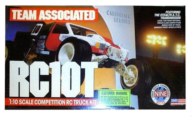 Team Associated RC10T - Vintage 1:10 Electric RC Truck