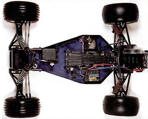 Team Associated RC10T2 Chassis