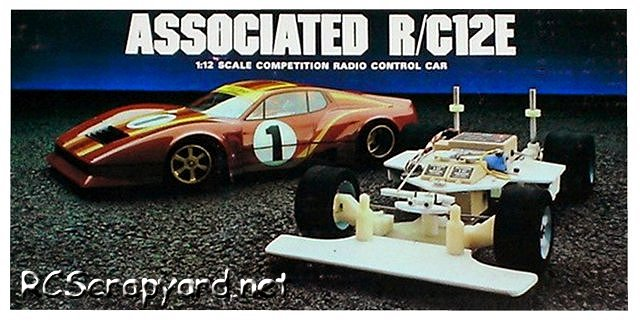 Team Associated RC12E - 1:12 Electric Pan Car