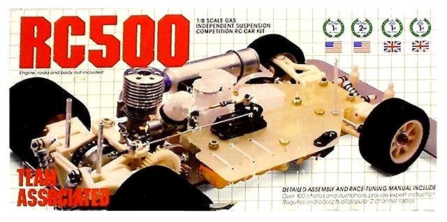 Associated RC500 - 1:8 Nitro RC Pan Racing Car