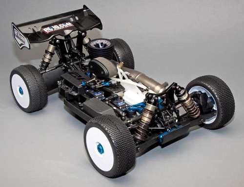 Team Associated RC8.2 FT Chassis