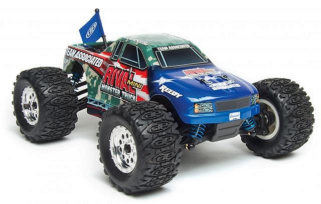 Team Associated Rival Mini MT - 1:18 Electric Monster Truck