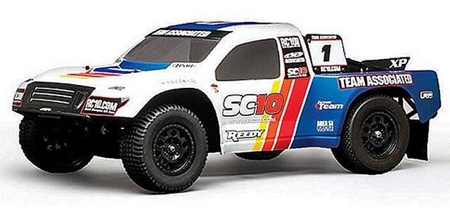 Team Associated SC10 Factory Team - 1:10 Electric RC Truck