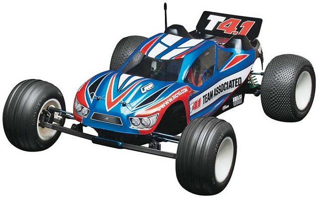 Team Associated T4.1 (RC10T4.1) Factory Team - 1:10 Electric RC Truck