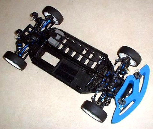 Team Associated TC3 Factory Team - 1:10 Electric RC Touring Car Chassis