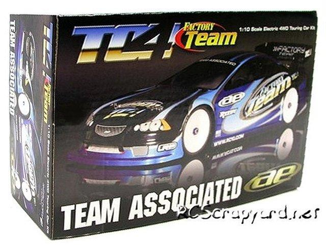Team Associated TC4 Factory Team - 1:10 Electric RC Touring Car