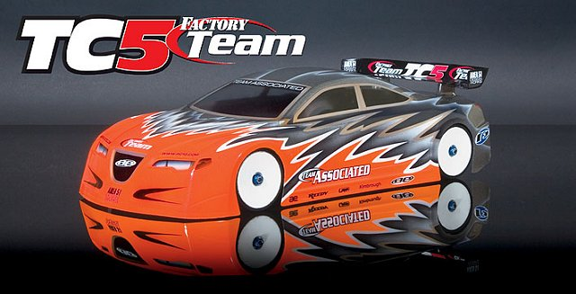 Team Associated TC5 Factory Team - 1:10 Electric RC Touring Car