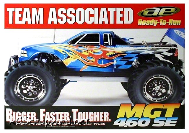 Team Associated MGT 4.60 SE - 1:8 Nitro Monster Truck