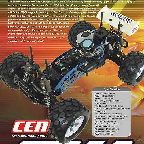 CEN GSR 5.0 Chassis