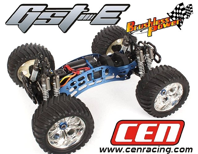 CEN GST-E Chassis - 1:8 Electric Monster Truck