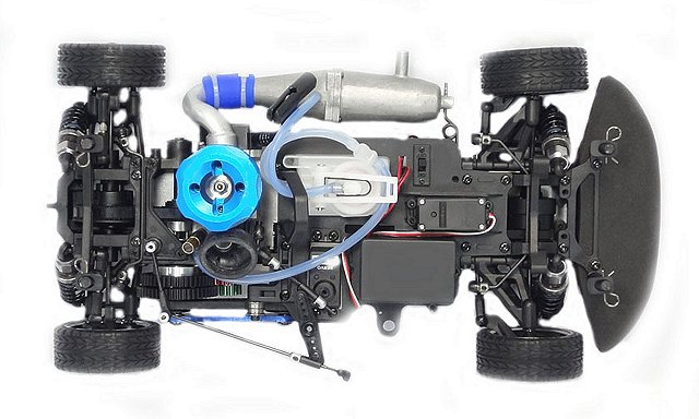 CEN Zoom-10 Nitro - Chassis
