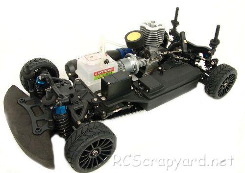 CEN Zoom-10 Nitro - Shaft Driven Chassis