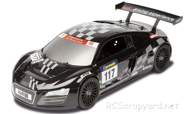 carson audi r8 rcs 500103032 radio controlled model. Black Bedroom Furniture Sets. Home Design Ideas