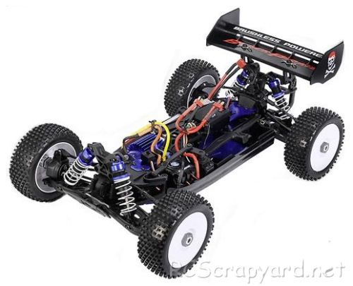 Carson Black Pirate 8 Chassis