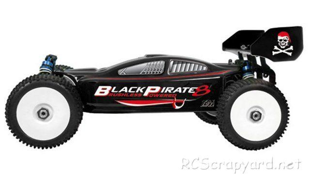 Carson Black Pirate 8 Brushless