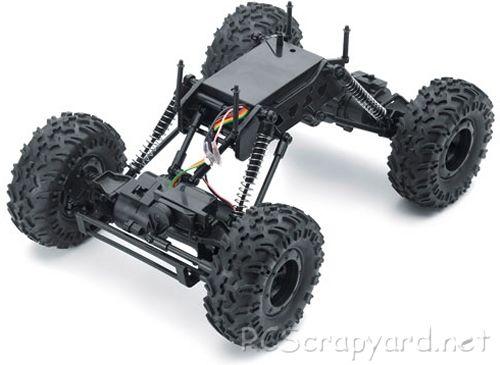 Carson FD X-Crawlee Chassis