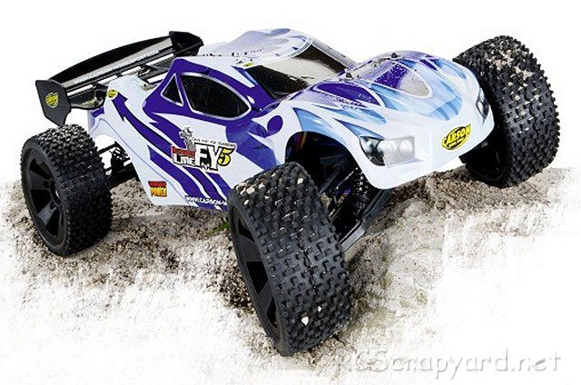Carson FY5 Destroyer Line 4S Brushless - 1:5 Electric RC Truck/Truggy