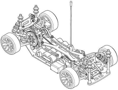 Corally C4 Chassis