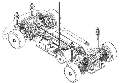 Corally HMX Chassis