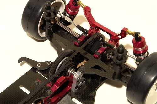 Corally HMX-M1 Chassis