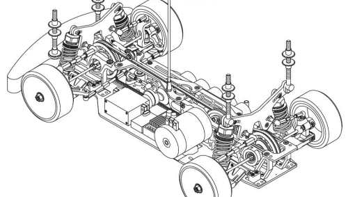 Corally RDX PHI 09 Chassis