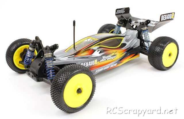 Durango DEX410R V3 - 1:10 Electric 4WD RC Buggy