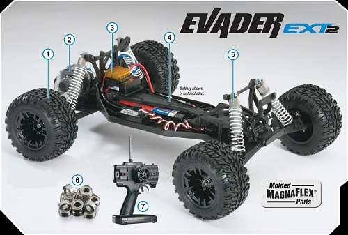 Duratrax Evader EXT-2 Chassis