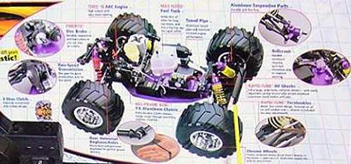 Duratrax Maximum MT Pro Chassis