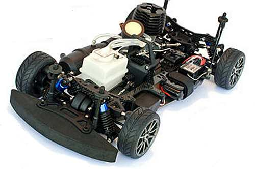 Duratrax Nissan GT-R Chassis