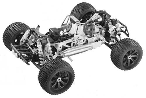 Duratrax RT-X-27 Chassis