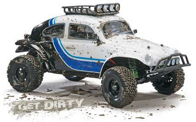 Duratrax VW Baja Bug RTR - 1:10 Electric Radio Controlled Model