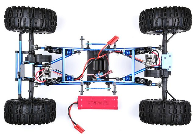 Exceed Mad Torque Rock Crawler Chassis