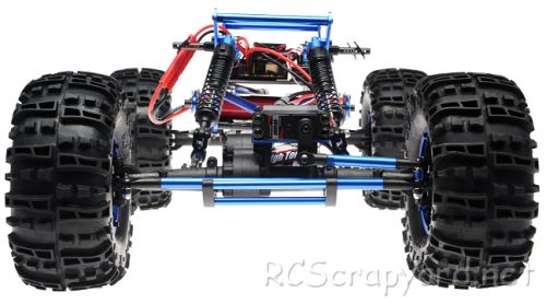 Exceed Mad Torque Chassis