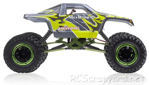 Exceed RC MaxStone10 Rock Crawler Chassis