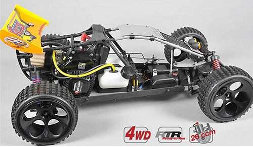 FG Modellsport Baja WB535 4WD Chassis